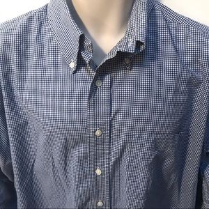 Brooks Brothers Gingham Checked Button Down Shirt